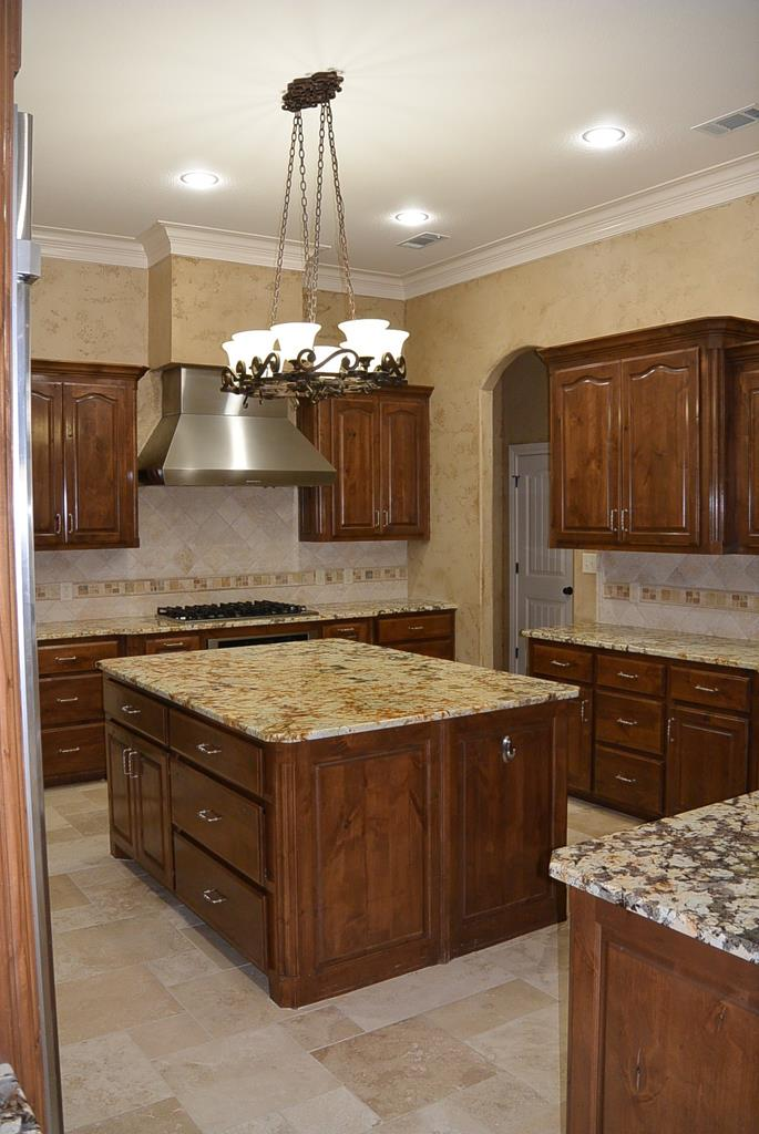 Abundance of storage and counter tops.